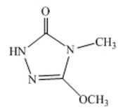 广州4-甲基-5-甲氧基-1,2,4-三唑啉-3-酮